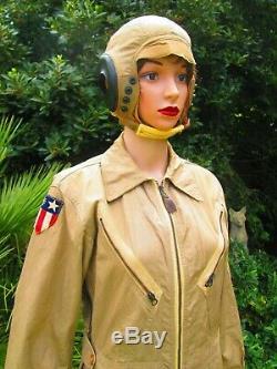 Ww2 Us Army Air Force K1légers D'été Combinaison De Vol Taille Petite Infirmière Wasp