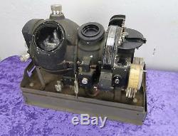 Ww2 Us Army Navy Marque I Bombardier M7 Norden Bombsight Avec Le Support En Métal