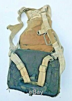 Ww2 Us Army Pack Siège Air Force De Parachute 1942 Attaches Complètes À Baïonnette Au Début