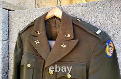 Ww2 Usaaf 8th Army Air Force Officier Uniforme Veste Pantalon Pilote