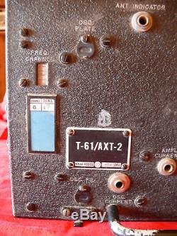 Ww2 Usaaf Original Secret Us Army Force Aérienne T61-ax2 Drone Aircraft Transmitter