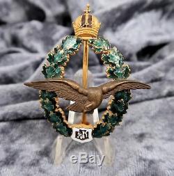 Wwi Austria Air Force Badge Médaille Badge Épingle Émail Allemand Ww2 Us Army Acheter