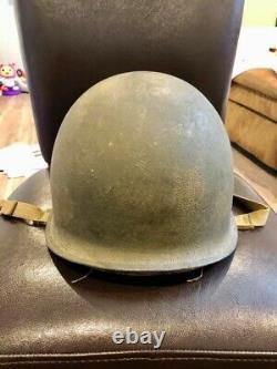 Wwii IDD Fixed Bale Helmet Of Mia Présumé Décédé Army Air Forces P-47 Pilot