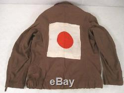 Wwii Pilote De L'armée De L'air De L'armée De L'armée Japonaise De L'armée De L'air Japonais Dtd 1943 Rare