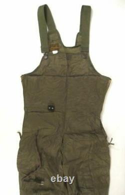 Wwii Usaaf Army Air Force Type F-3 Electric Flying Suit (veste & Pants Set) Nos